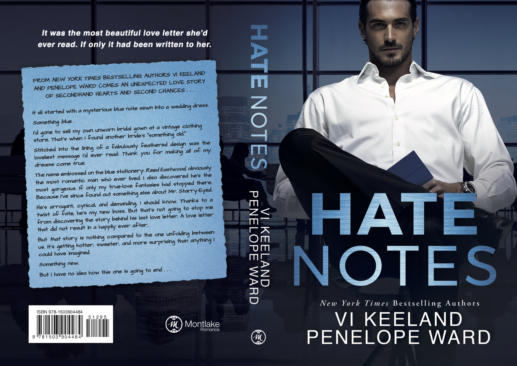 Hate Notes final paperback cover