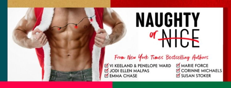 Naughty or Nice - Author page banner