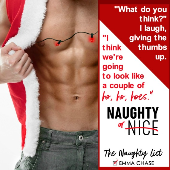 Naughty or Nice - Emma